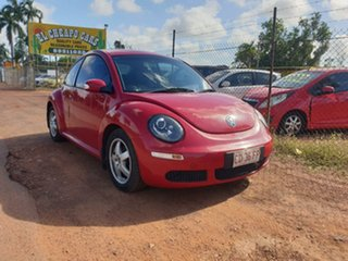 2007 Volkswagen Beetle Red 5 Speed Manual Coupe.