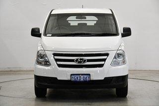 2017 Hyundai iLOAD TQ3-V Series II MY17 Crew Cab Creamy White 5 Speed Automatic Van.