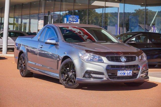 Used Holden Ute VF MY14 SS V Ute Gosnells, 2013 Holden Ute VF MY14 SS V Ute Grey 6 Speed Sports Automatic Utility