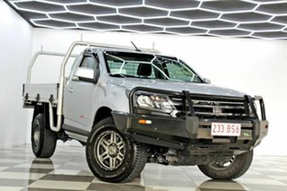 2017 Holden Colorado RG MY18 LS (4x4) Silver 6 Speed Automatic Cab Chassis.