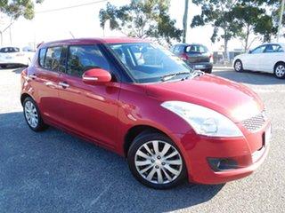2012 Suzuki Swift FZ GLX Red 5 Speed Manual Hatchback.