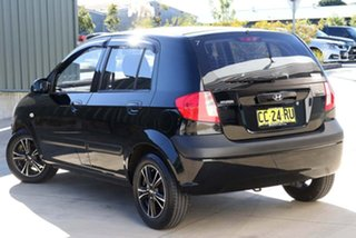 2011 Hyundai Getz TB MY09 S Black 4 Speed Automatic Hatchback.