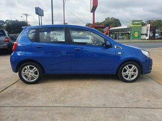 2010 Holden Barina TK MY10 Blue 5 Speed Manual Hatchback