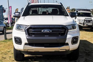 2021 Ford Ranger PX MkIII 2021.25MY Wildtrak White 6 Speed Sports Automatic Double Cab Pick Up.