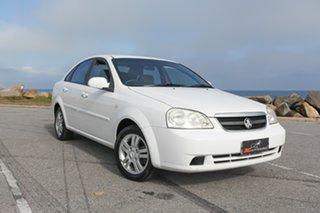 2006 Holden Viva JF White 5 Speed Manual Sedan.