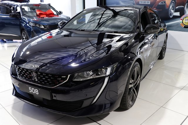 New Peugeot 508 R8 MY21 GT Cardiff, 2021 Peugeot 508 R8 MY21 GT Blue 8 Speed Sports Automatic Fastback