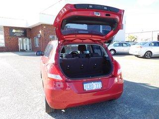 2012 Suzuki Swift FZ GLX Red 5 Speed Manual Hatchback