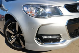 2017 Holden Commodore VF II MY17 SV6 Silver 6 Speed Sports Automatic Sedan.