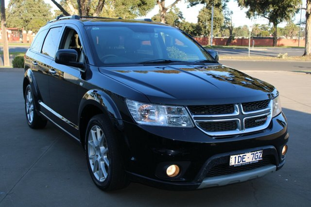 Used Dodge Journey JC MY16 R/T West Footscray, 2015 Dodge Journey JC MY16 R/T Black 6 Speed Automatic Wagon