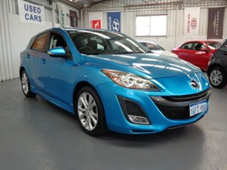 2011 Mazda 3 BL10L2 SP25 Activematic Blue 5 Speed Sports Automatic Hatchback.