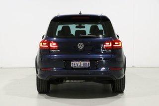 2015 Volkswagen Tiguan 5NC MY15 132 TSI (4x4) Blue 7 Speed Auto Direct Shift Wagon