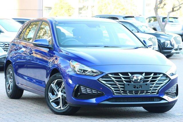 New Hyundai i30 PD.V4 MY21 Reynella, 2021 Hyundai i30 PD.V4 MY21 Intense Blue 6 Speed Sports Automatic Hatchback