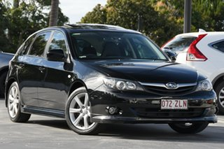 2009 Subaru Impreza G3 MY09 RS AWD Black 5 Speed Manual Hatchback.