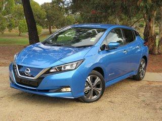 2021 Nissan Leaf ZE1 e+ Vivid Blue 1 Speed Reduction Gear Hatchback.