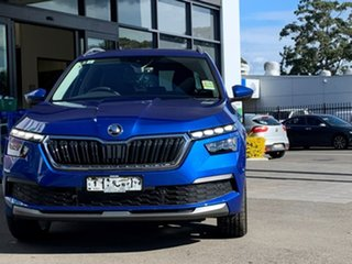 2021 Skoda Kamiq NW MY21 110TSI DSG FWD Limited Edition Blue 7 Speed Sports Automatic Dual Clutch.