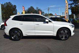 2017 Volvo XC60 UZ MY18 D4 AWD Momentum White 8 Speed Sports Automatic Wagon.