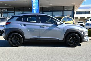 2018 Hyundai Kona OS MY18 Active D-CT AWD Silver 7 Speed Sports Automatic Dual Clutch Wagon