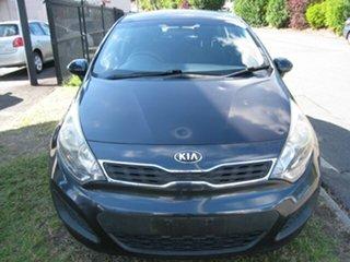 2013 Kia Rio UB MY13 S Grey 4 Speed Automatic Hatchback.