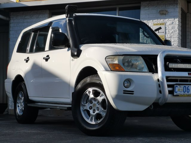 Used Mitsubishi Pajero NP MY05 GLX Derwent Park, 2005 Mitsubishi Pajero NP MY05 GLX White 5 Speed Sports Automatic Wagon
