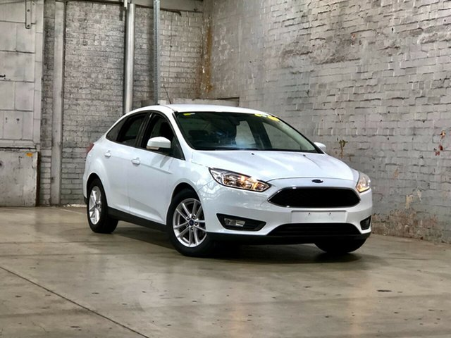 Used Ford Focus LZ Trend Mile End South, 2016 Ford Focus LZ Trend White 6 Speed Automatic Sedan
