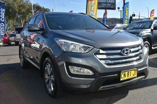 2013 Hyundai Santa Fe DM MY14 Elite Dark Grey 6 Speed Sports Automatic Wagon.