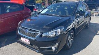 2015 Subaru Impreza G4 MY15 2.0i AWD Premium Crystal Black 6 Speed Manual Hatchback.