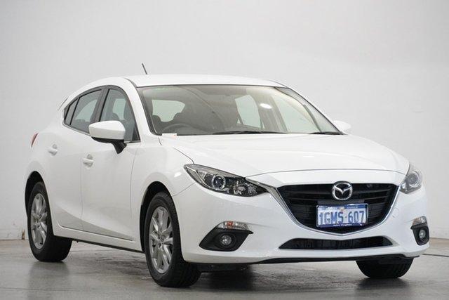 Used Mazda 3 BM5478 Maxx SKYACTIV-Drive Victoria Park, 2015 Mazda 3 BM5478 Maxx SKYACTIV-Drive White 6 Speed Sports Automatic Hatchback