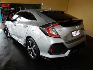 2018 Honda Civic MY18 RS Silver Continuous Variable Hatchback.