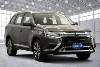 2018 Mitsubishi Outlander ZL MY19 ES 2WD Ironbark 6 Speed Constant Variable Wagon.