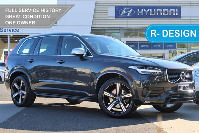 Used Volvo XC90 L Series MY16 D5 Geartronic AWD R-Design South Melbourne, 2016 Volvo XC90 L Series MY16 D5 Geartronic AWD R-Design Grey 8 Speed Sports Automatic Wagon