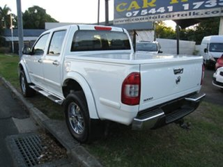 2004 Holden Rodeo RA LT (4x4) White 4 Speed Automatic Crew Cab Pickup