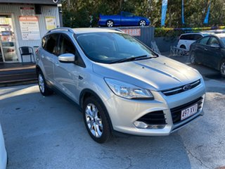 2013 Ford Kuga TE Trend Silver 5 Speed Automatic Wagon.