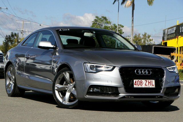 Used Audi A5 8T MY15 (N5) Multitronic Rocklea, 2014 Audi A5 8T MY15 (N5) Multitronic Monsoon Grey 8 Speed Constant Variable Coupe