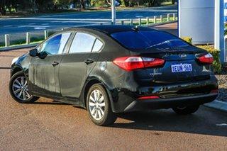 2015 Kia Cerato YD MY15 S Premium Black/Grey 6 Speed Sports Automatic Sedan.