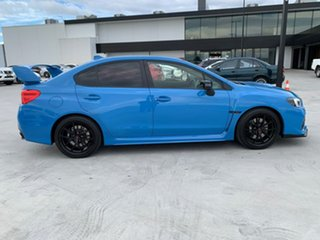 2015 Subaru WRX V1 MY16 STI AWD Hyper Blue Blue 6 Speed Manual Sedan.