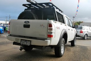 2011 Ford Ranger PK XL (4x4) White 5 Speed Automatic Dual Cab Pick-up