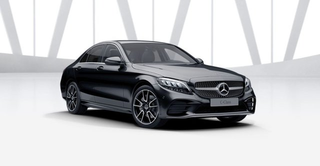 Demonstrator Mercedes-Benz C-Class W205 801MY C300 9G-Tronic Mulgrave, 2021 Mercedes-Benz C-Class W205 801MY C300 9G-Tronic Obsidian Black 9 Speed Sports Automatic Sedan