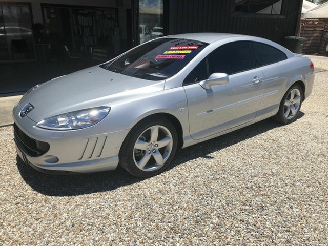 Used Peugeot 407 HDi Arundel, 2006 Peugeot 407 HDi Silver 6 Speed Tiptronic Coupe
