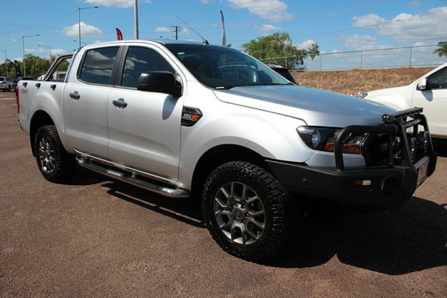 Pre-Owned Ford Ranger PX MkII 2018.00MY XL Darwin, 2017 Ford Ranger PX MkII 2018.00MY XL Silver 6 Speed Sports Automatic Utility