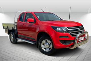 2017 Holden Colorado RG MY17 LS Space Cab Red 6 Speed Manual Cab Chassis.