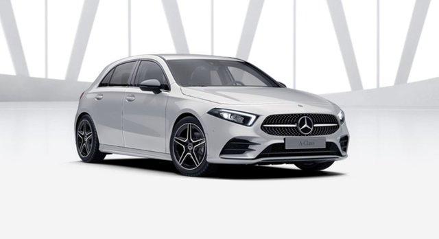 Demonstrator Mercedes-Benz A-Class W177 801+051MY A180 DCT Mulgrave, 2021 Mercedes-Benz A-Class W177 801+051MY A180 DCT Digital White 7 Speed