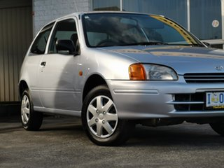1997 Toyota Starlet Life Silver 3 Speed Automatic Hatchback.