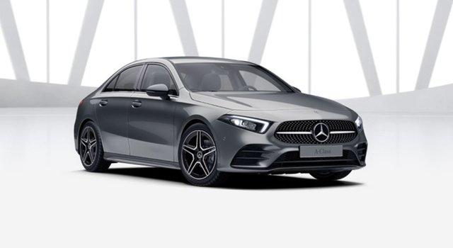 New Mercedes-Benz A-Class V177 801+051MY A180 DCT Berwick, 2021 Mercedes-Benz A-Class V177 801+051MY A180 DCT Mountain Grey 7 Speed