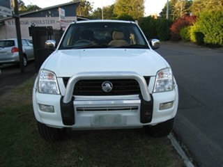 2004 Holden Rodeo RA LT (4x4) White 4 Speed Automatic Crew Cab Pickup.