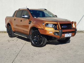 2019 Ford Ranger PX MkIII 2020.25MY Wildtrak Orange 10 Speed Sports Automatic Double Cab Pick Up.