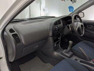 2003 Mitsubishi Mirage CE MY2002 White 5 Speed Manual Hatchback