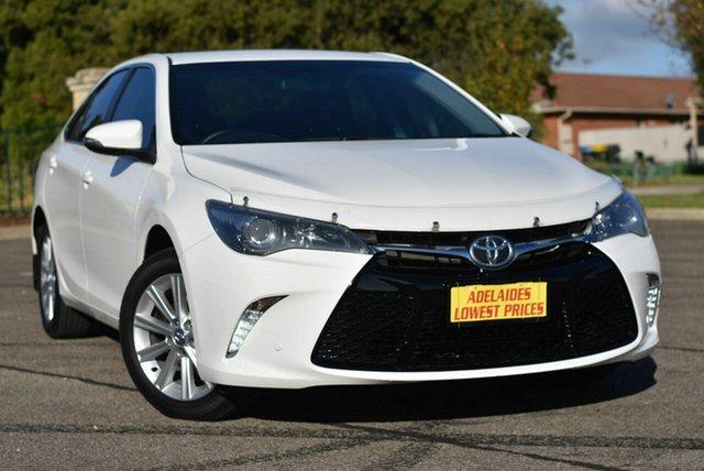 Used Toyota Camry ASV50R Atara S Enfield, 2017 Toyota Camry ASV50R Atara S White 6 Speed Sports Automatic Sedan
