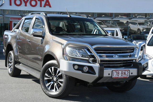 Pre-Owned Holden Colorado RG MY17 LTZ Pickup Crew Cab Upper Mount Gravatt, 2016 Holden Colorado RG MY17 LTZ Pickup Crew Cab Bronze 6 Speed Manual Utility