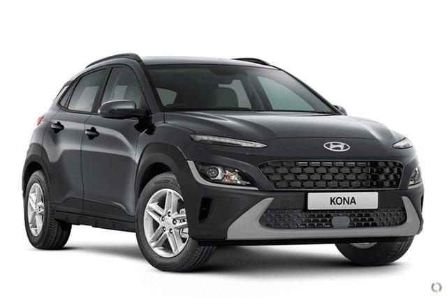 Demo Hyundai Kona Os.v4 MY21 2WD Oakleigh, 2021 Hyundai Kona Os.v4 MY21 2WD Grey 8 Speed Constant Variable Wagon