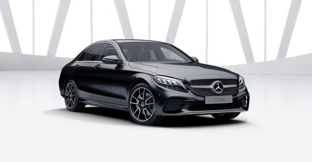 New Mercedes-Benz C-Class W205 801MY C300 9G-Tronic Berwick, 2021 Mercedes-Benz C-Class W205 801MY C300 9G-Tronic Obsidian Black 9 Speed Sports Automatic Sedan